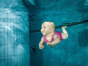 bébé nageur, piscine bébé